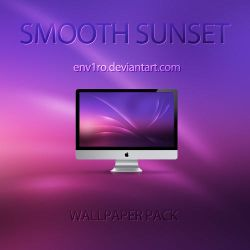 Smooth Sunset Wallpapers Pack by env1ro