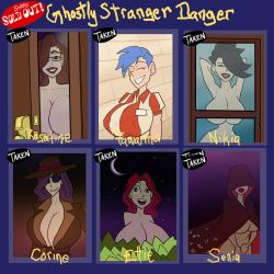 Ghostly Stranger Danger - SOLD OUT by JonFreeman