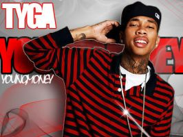 Tyga by PhreakTheArtist