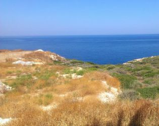 Crete - View on sea by Gwathiell