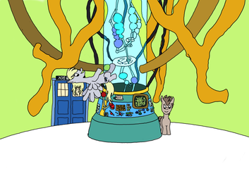 Concept: The Pony Doctor's TARDIS by MarkKB