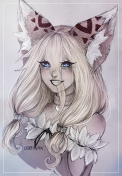My OC: Nives by nyphi