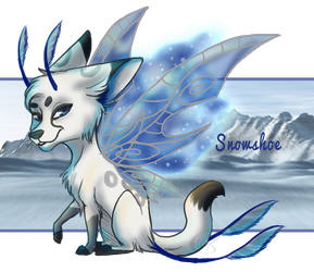 SnowShoe redraw for ZenniLynn by Wolf-of-DirtyPaws