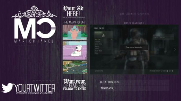 Twitch Layout 2 by perezsmarie