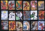 Marvel 3D Upper Deck Sketch Cards by SaviorsSon
