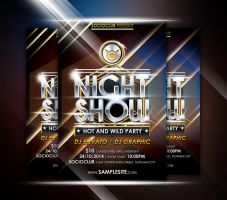 Night Show Flyer by afizs