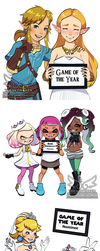 Nintendo Game Awards Nominees (12 7 2017) by theskywaker