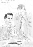 O. Minne and F. Chevaux - Mr Holmes and Dr Watson by SeaCat2401