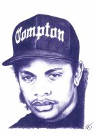 Eazy E Pencil Sketch by DJMark563