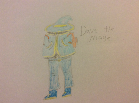 Dave The Mage by TheMagnificentBoxMan
