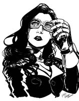 Asami in Sharpie by Pencil-Bender