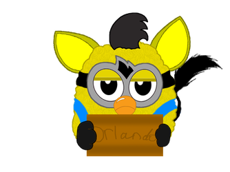 Furby Kevin ( models link) by DanellaScattolon