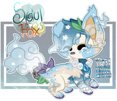 (Closed) Starry Waters SoulFox Auction! by SetSaiI