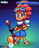 Wonder Wickets: Meet Gallus! by The-Knick