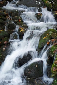 Smoky Mountains Waterfall 6 by poetcrystaldawn