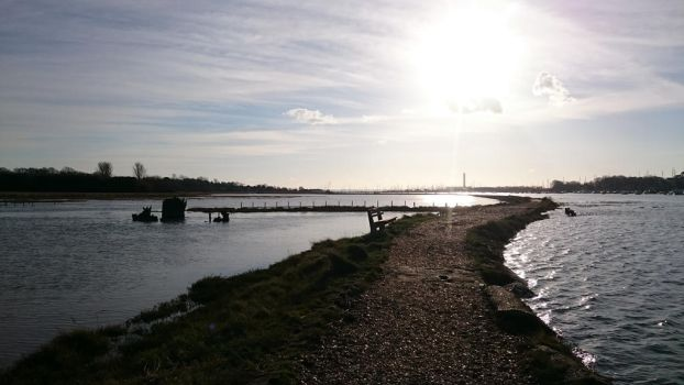 Hamble river by fishpowered