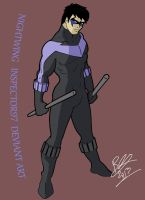 Nightwing by Inspector97