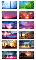 SPECIAL AUTOBUY AUCTION - SCENERY (25 $) October 2 by ryky