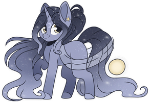 Night sky adopt (closed) by EpochAii
