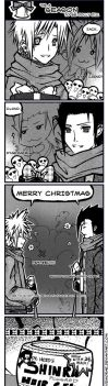 CLOUD n ZACK LOLTASTIC X-MAS by emorae