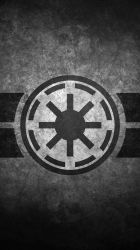 Galactic Republic Symbol Cellular Wallpaper by swmand4