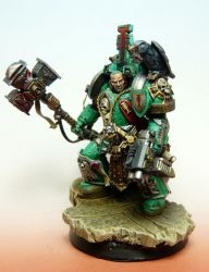 Ordo Malleus Inquisitor Lord true scale for WH40K by RAFFETIN