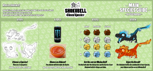 What is a SHOKUBELL? [Species Guides 1] by Cachomon