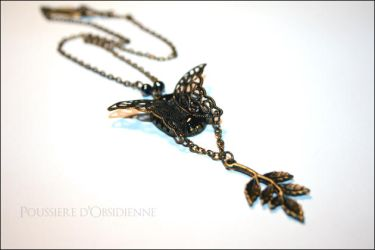 Collier Naturalis by PoussiereObsidienne