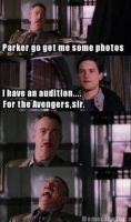 SPIDER MAN - AUDITIONS FOR AVENGERS by TheGuardianW0lf