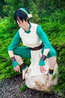 Rocks are better than people - Toph by BLPcosplay