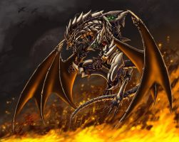 Abyss Dragon by pamansazz
