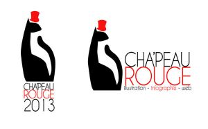 New personnal logo : Cha'peau Rouge by Red-Cha