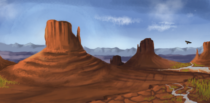 Monument valley by Alia64