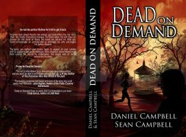 Dead On Demand_Paperback Book Cover by TheSwanMaideN