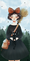 Kiki's Delivery Service ( redraw ) by PastaNya