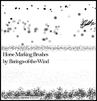 Horse Marking Brushes by Baringa-of-the-Wind