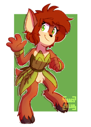 I'm a Faun! by Isaacs-Collar