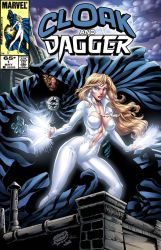 Cloak N' Dagger Mock Cover by CdubbArt