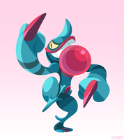 PKMN - Toxicroak by Versiris