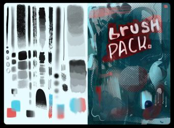 me brushes by Chillustration