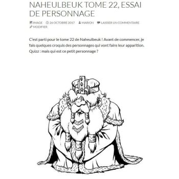 Naheulbeuk tome 22 character by MarionPoinsot34