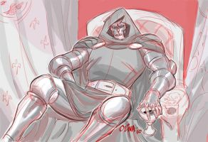 Doctor Doom by AZNbebop