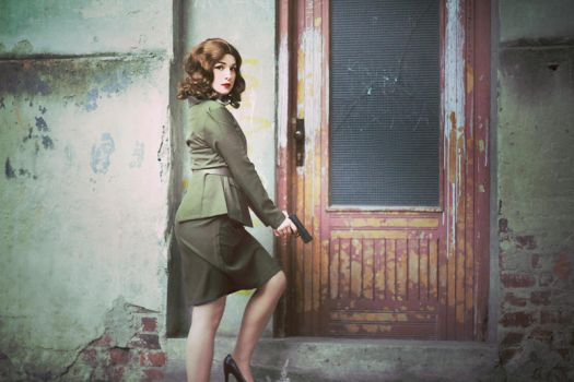 Agent Peggy Carter by silverwolfieofficial