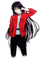 Rei Hino (Sailor Mars) - Casual Outing by SketchMeNot-Art