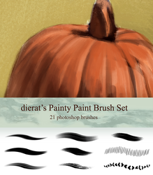 My Painty Paint Brush Set by dierat
