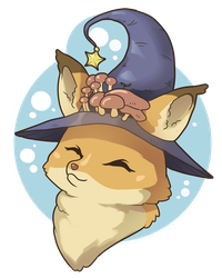 Witch Fox by tamaharian