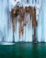 Plitvice - Frozen Fall by AndreasResch