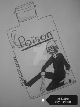 Inktober Day 1: Poisonous