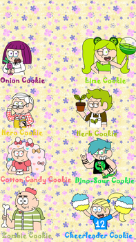 Cookie Run humanized characters (part 3) by Princess-Sackboy3659