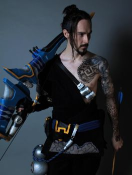 Hanzo Overwatch by Tomatron5